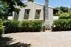 Archontika Villas - sideview from parking area