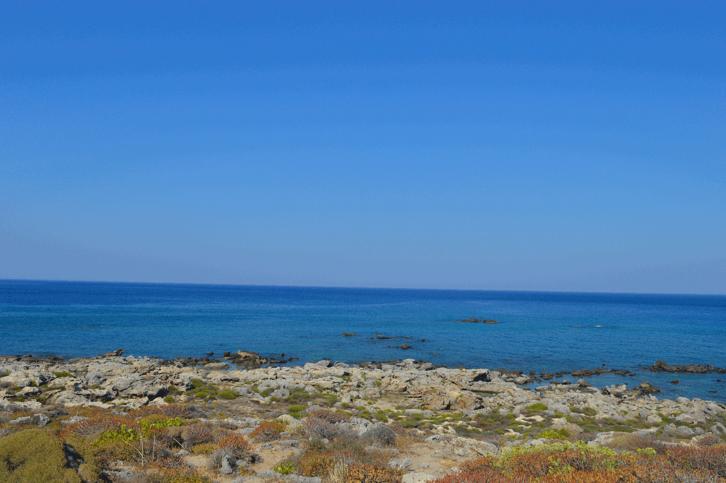 View from Elafonisi island