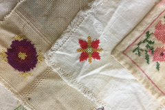 Fragment of handkerchiefs