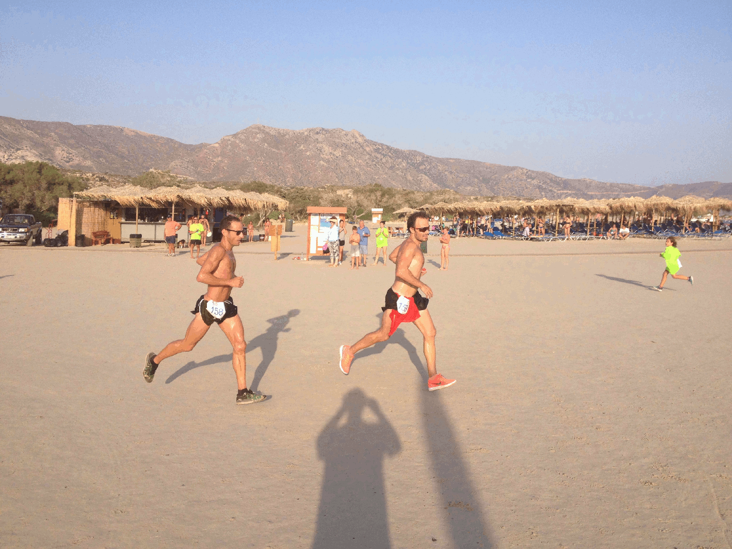 Sprint for 12,5km win