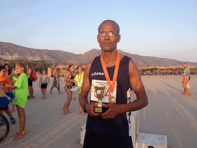 Winner 5km Man