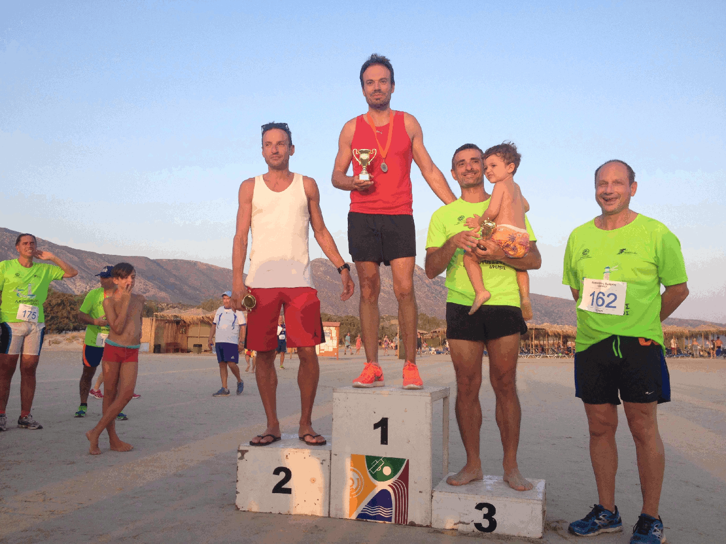Winners 12,5km Man