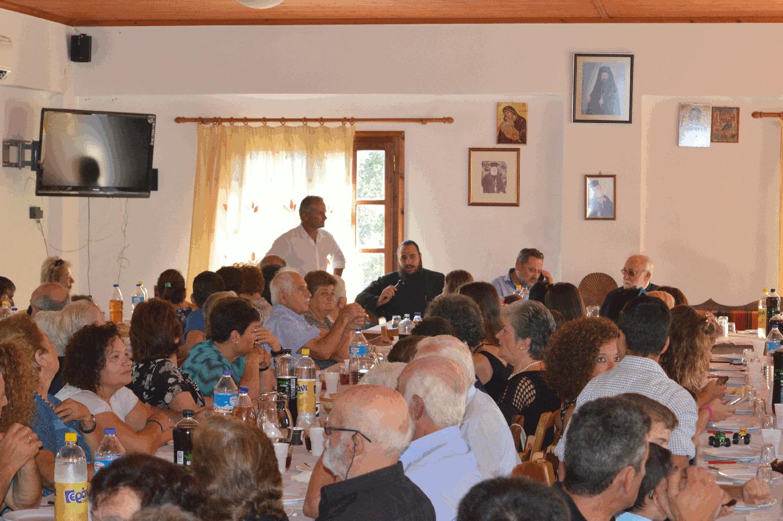 Makrakis speaks