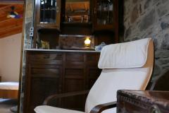 Villa Tzitzifia chair in livingroom