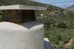 Villa Tzitzifia chimney